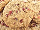 Honey Cranberry Cookies | Homemade Dog Treats